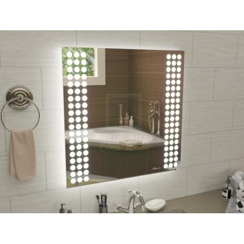 Зеркало с подсветкой для ванной комнаты Терамо