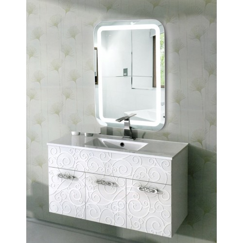 Зеркало с подсветкой в ванную комнату Эстер